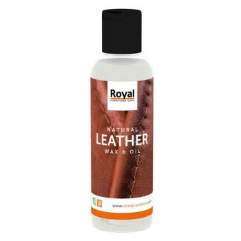 Natural Leather Wax en Oil