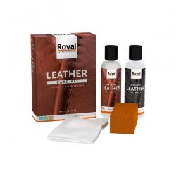 Leather Wax & Oil set