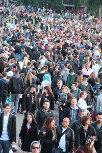 Overbevolking is een probleem!