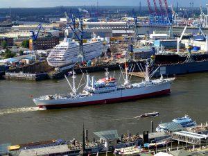 Zeeschepen zorgen voor veel CO2 uitstoot
